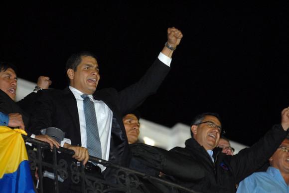 Rafael Correo, Präsident von Ecuador