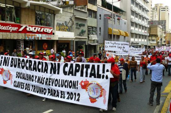 """Transparent der Gewerkschaft: """"Weder Bürokratie, noch Kapital - mehr Soziali"""