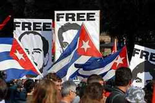 Solidarität mit Cuban Five