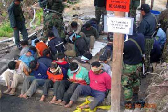 Festgenommen und misshandelt: Polizei und Sicherheitsdienst gegen Demonstranten