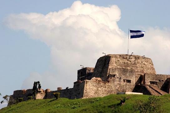 Ehemals spanisches Fort am Río San Juan