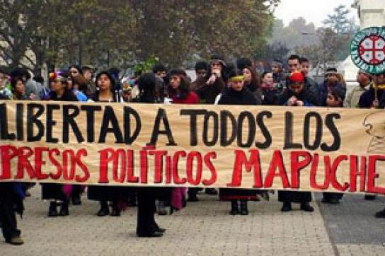 Mapuche fordern Freiheit für alle politischen Gefangenen
