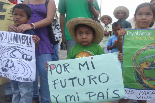 """""""Für meine Zukunft und mein Land"""" - Szene am Rande der Proteste in Panama"""