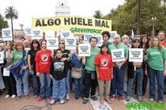 Erster Erfolg: Protest von Umweltaktivisten