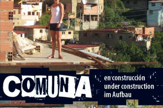 "Cover des Films ""Comuna im Aufbau"""
