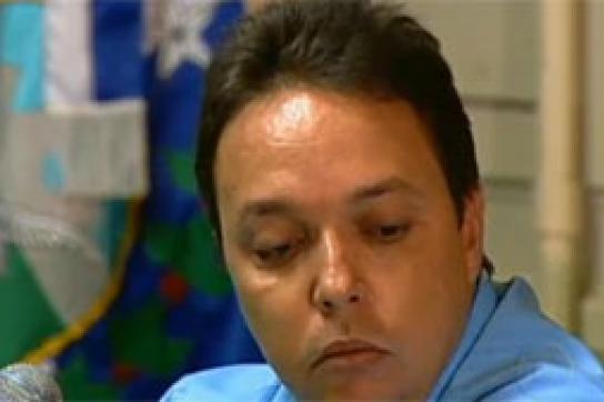 Inhaftiert: Cristiano Girão