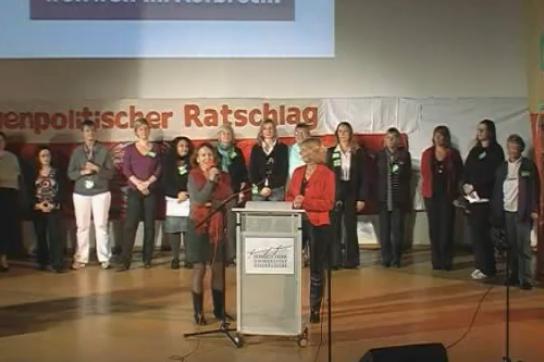Bereitet Konferenz von Deutschland aus vor: Frauenpolitischer Ratschlag