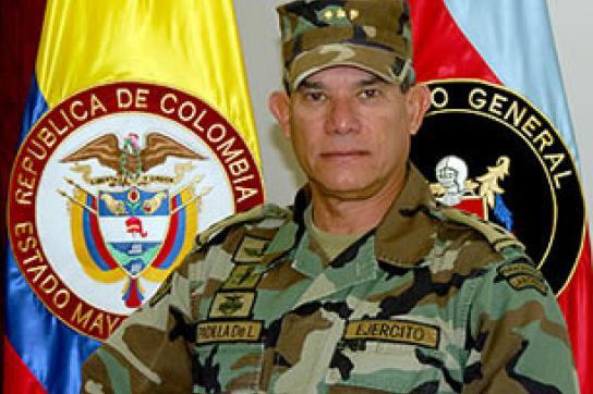 Mehrfach im Visier der Justiz: General Freddy Padilla