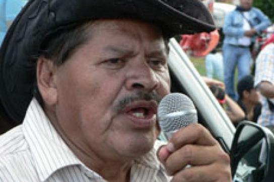 FRNP-Politiker Arafel Alegría