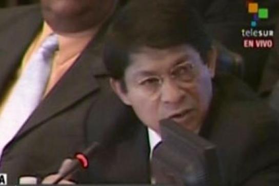 Bittet um Schlichtung: Nicaraguas OAS-Botschafter Denis Moncada
