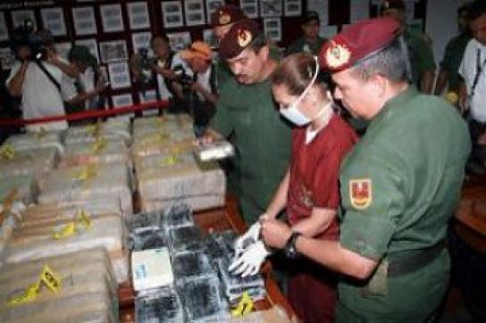 Drogenfund im April dieses Jahres in Venezuela