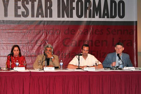Medienkonferenz von Telesur 2007