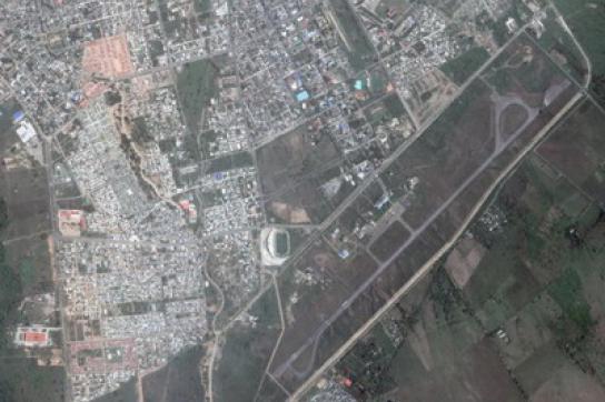 Luftaufnahme der Basis in Yopal