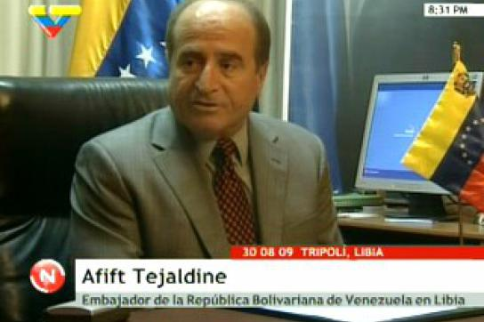 Botschafter Afif Tajeldine