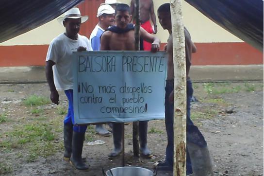 Organisierte Bauern von Putumayo