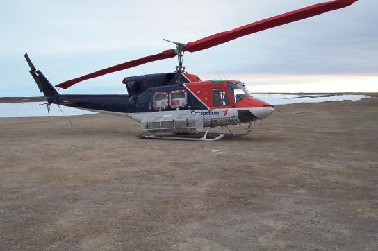 Bell-212-Hubschrauber