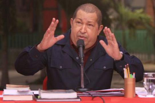 Fühlt sich missverstanden: Hugo Chávez