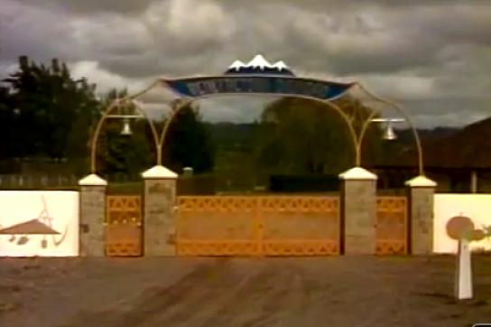 Der Eingang zur Colonia Dignidad