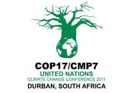 Logo des Klimagipfels