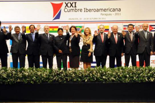 Teilnehmer des Iberoamerikagipfels