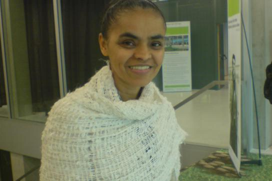 Marina Silva in Berlin