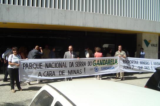 Protest gegen Vale