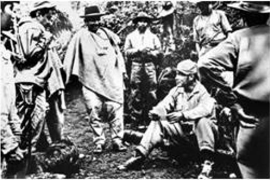 Bild aus der Gründungszeit der FARC