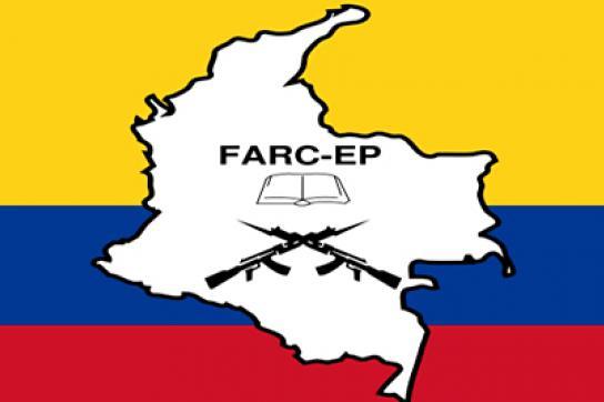 Flagge der FARC-Rebellen