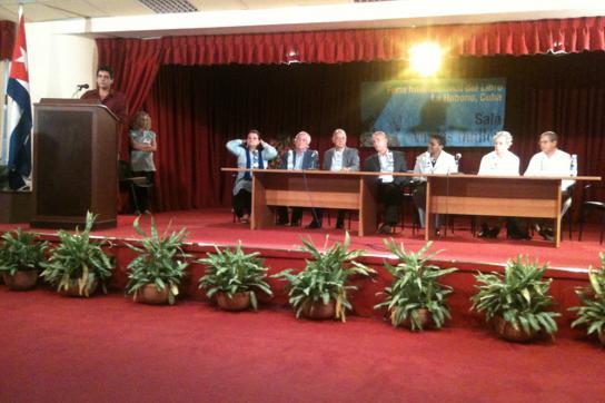 Abschlussveranstaltung der Buchmesse Havanna 2011