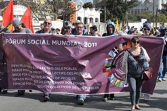 die Weltsozialforumsbewegung