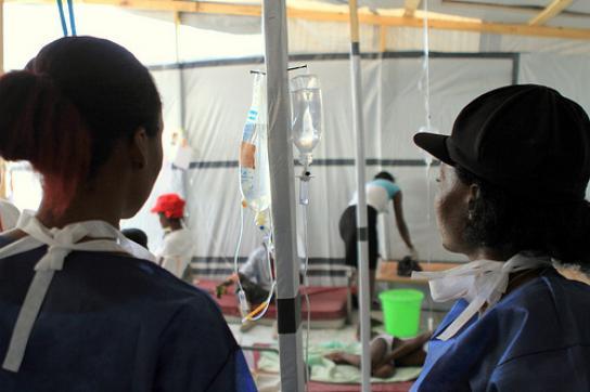 Versorgungsstation des Britischen Roten Kreuzes