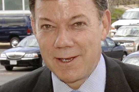 Nur für Einmischung der USA: Juan Manuel Santos