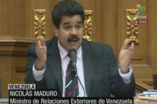Außenminister Maduro
