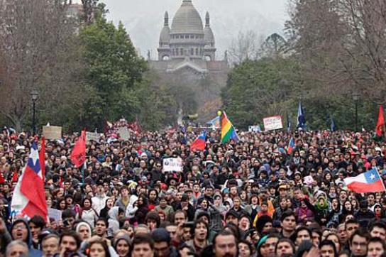Die Bildungsproteste in Chile dauern an