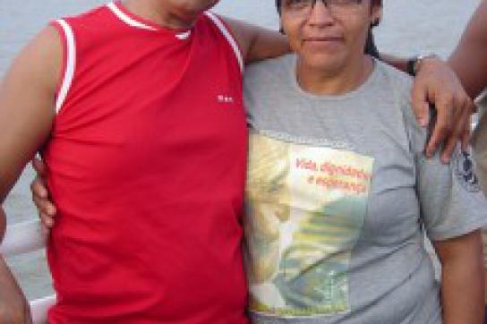 José Claudio Ribeiro da Silva und Maria do Espírito Santo da Silva