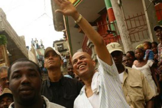 Präsidentschaftskandiat Martelly