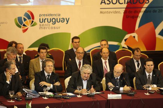 Teilnehmer des 42. Mercosur Gipfeltreffens