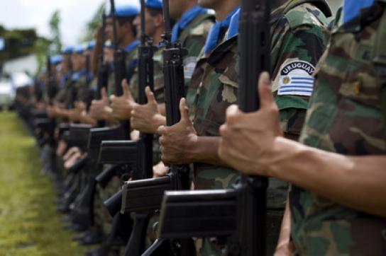 MINUSTAH-Soldaten aus Uruguay