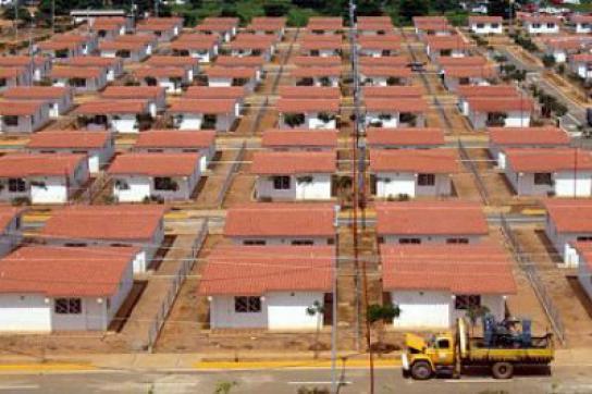 Neue Siedlung in Venezuela