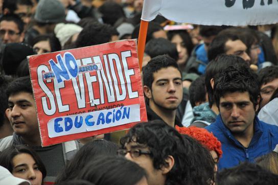 Proteste in Santiago: Bildung ist keine Ware