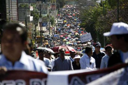 Massenproteste in Oaxaca
