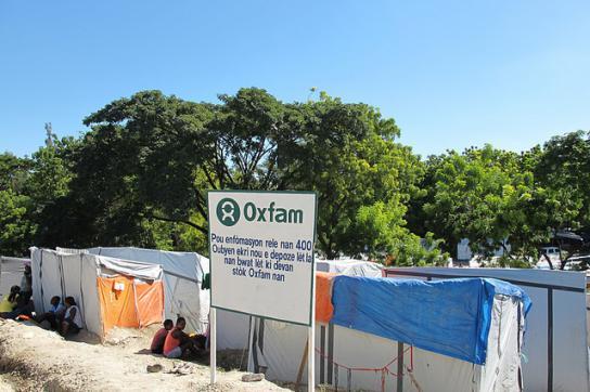 Oxfam-Projekt in Pétionville, Haiti