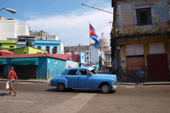 Auto in Kubas Hauptstadt Havanna