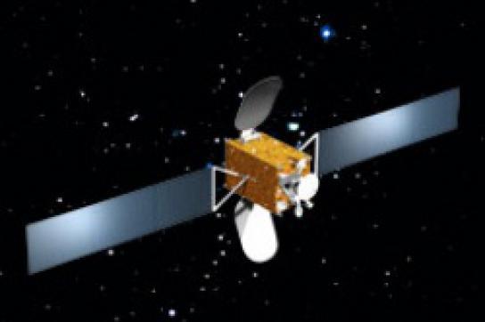 Modellbild des geplanten Satelliten