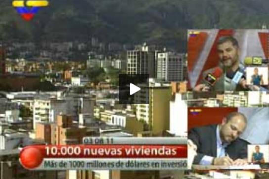 VTV-Bericht über die Vertragsunterzeichnung