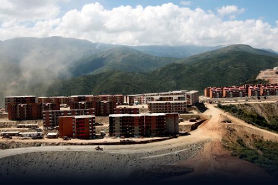 Neue Wohnungen bei Caracas