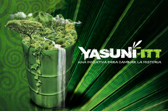 Logo der Yasuní-ITT-Initiative