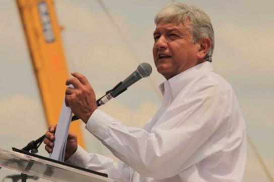 López Obrador am 9. September 2012