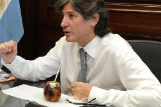 Argentiniens Vizepräsident Amado Boudou