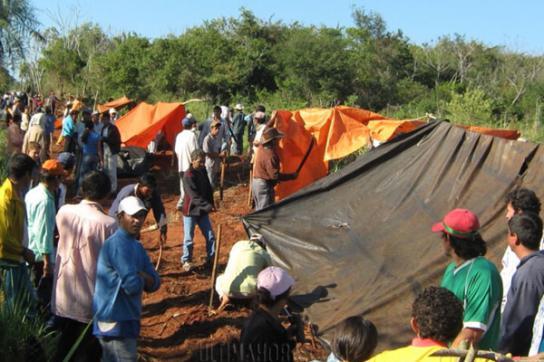 Landlose in Paraguay